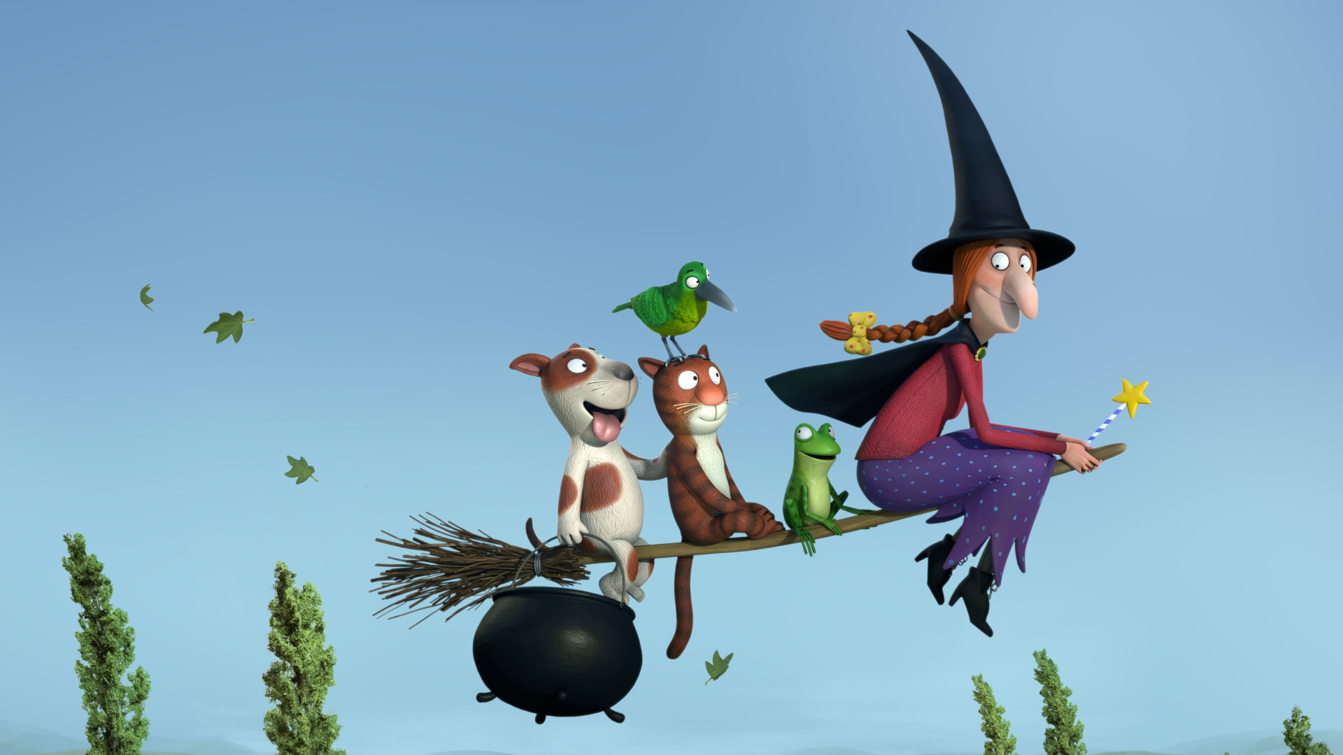 ROOM ON THE BROOM © Orange Eyes Limited 2012